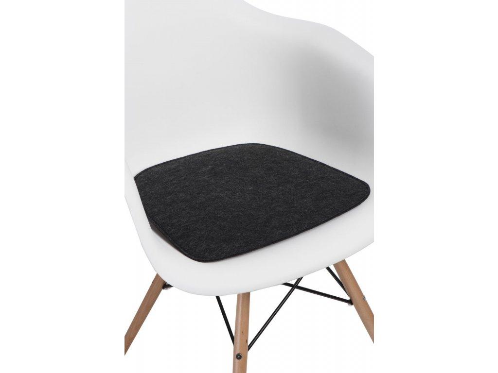 Vankúš na stoličky Arm Chair šedý vás.