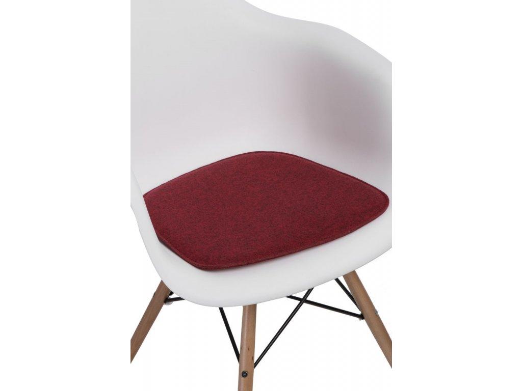 Vankúš na stoličky Arm Chair červený mel.
