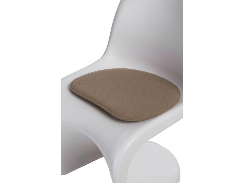 Vankúš na stoličky Balance béžový