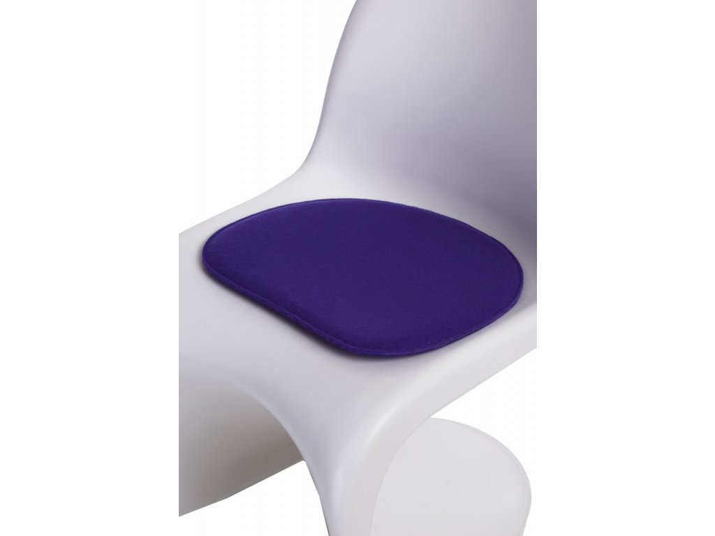 Vankúš na stoličky Balance fialový