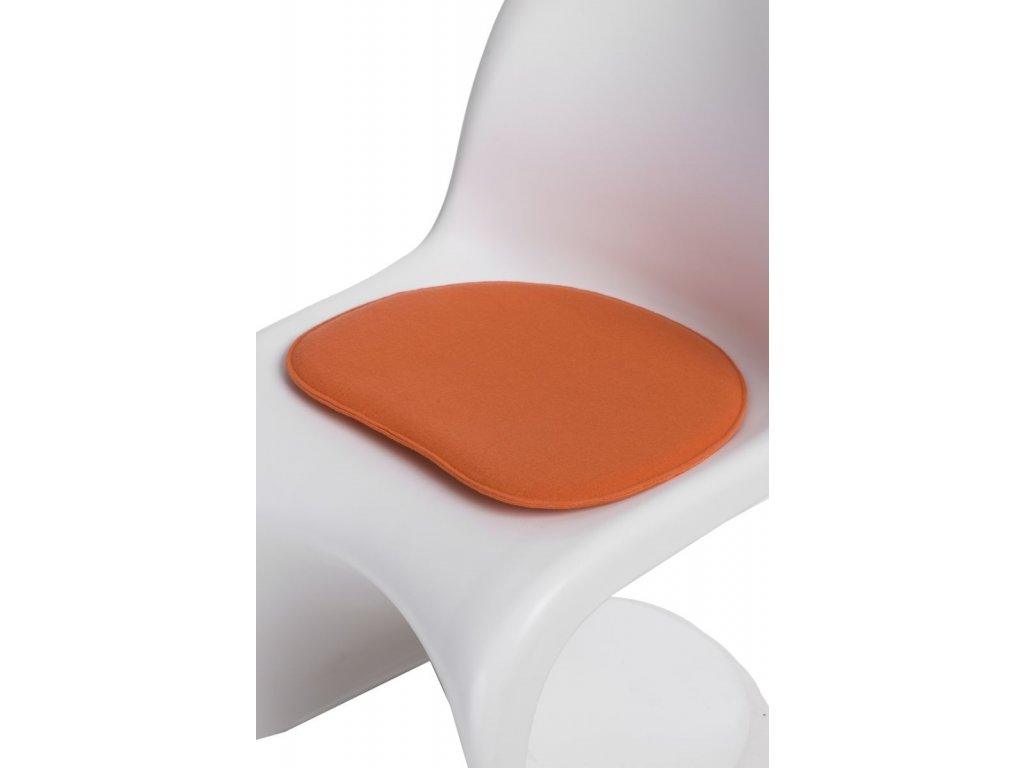 Vankúš na stoličky Balance oranžový