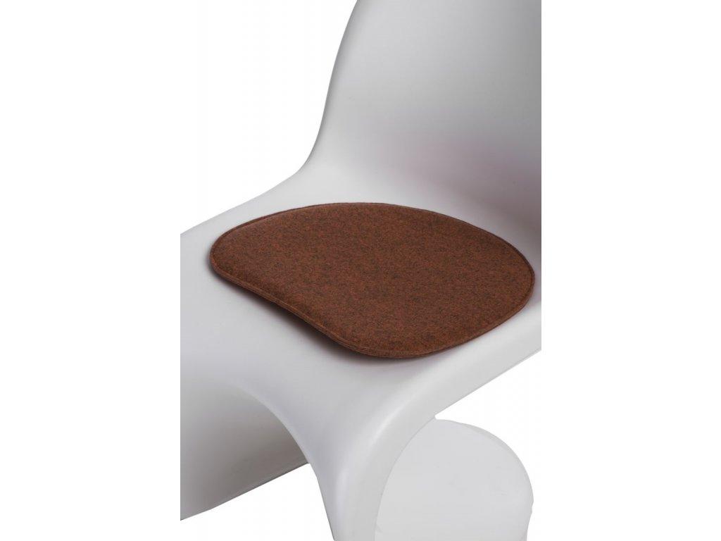 Vankúš na stoličky Balance pom.směs