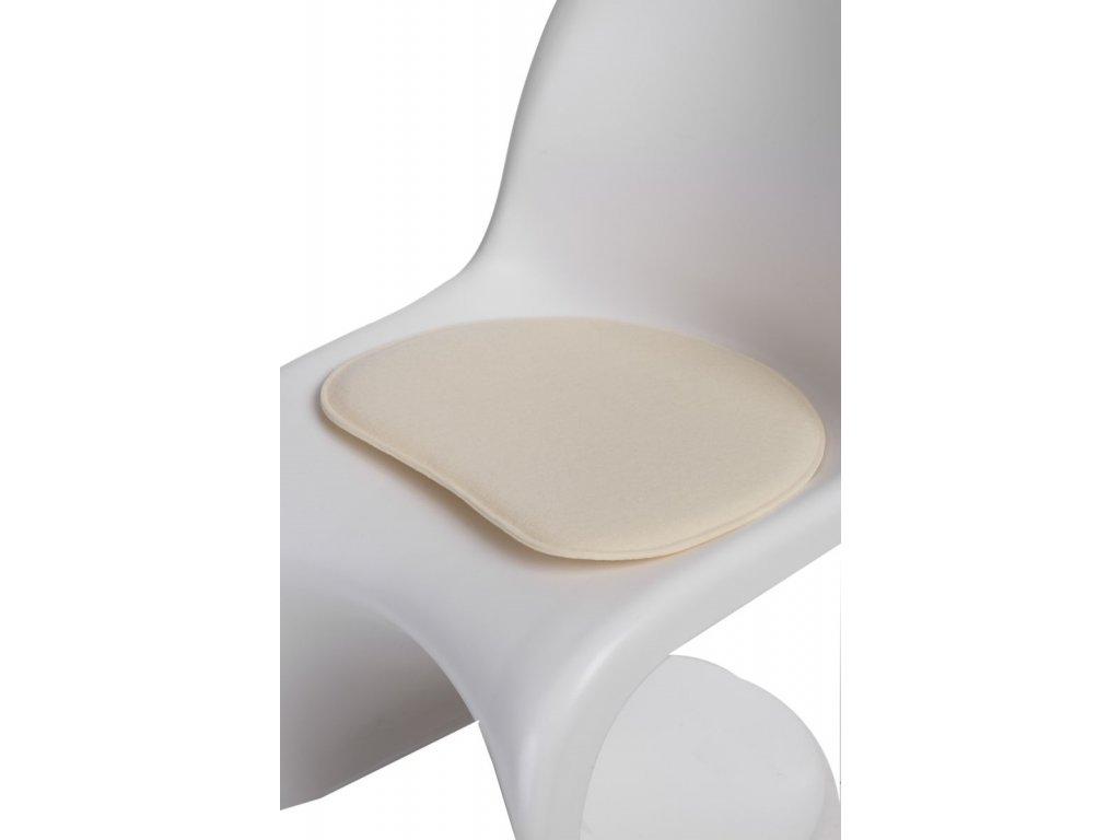 Vankúš na stoličky Balance prírodné