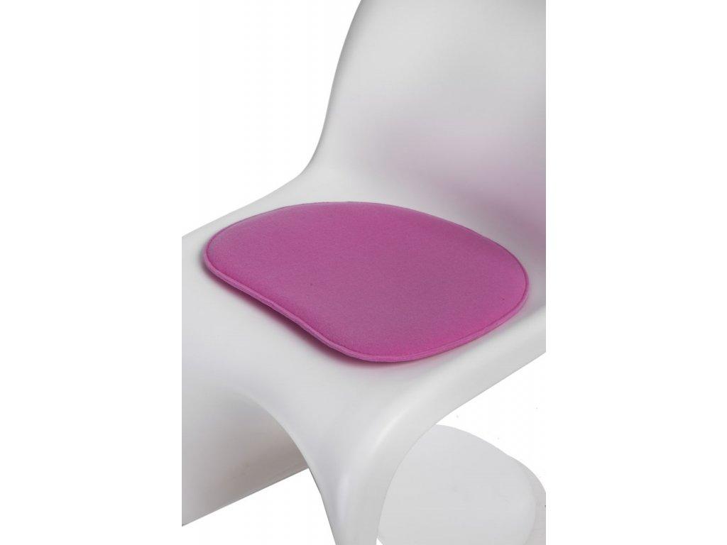 Vankúš na stoličky Balance ružový