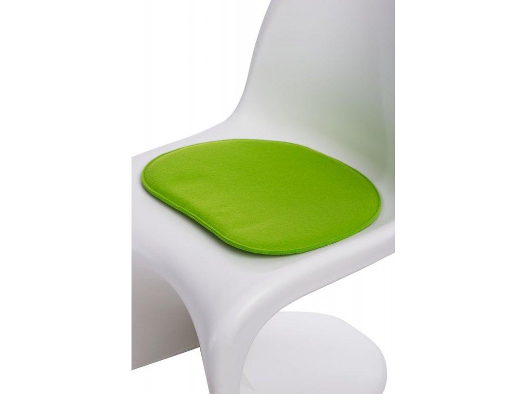 Vankúš na stoličky Balance zelený jas.