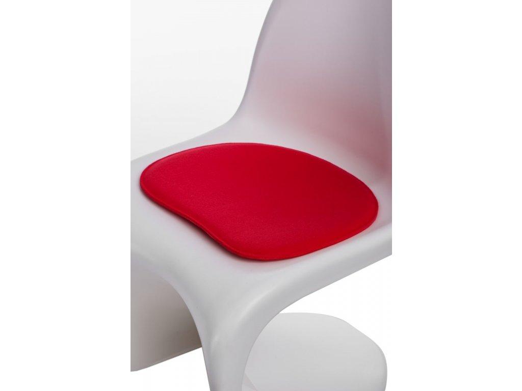 Vankúš na stoličky Balance červený