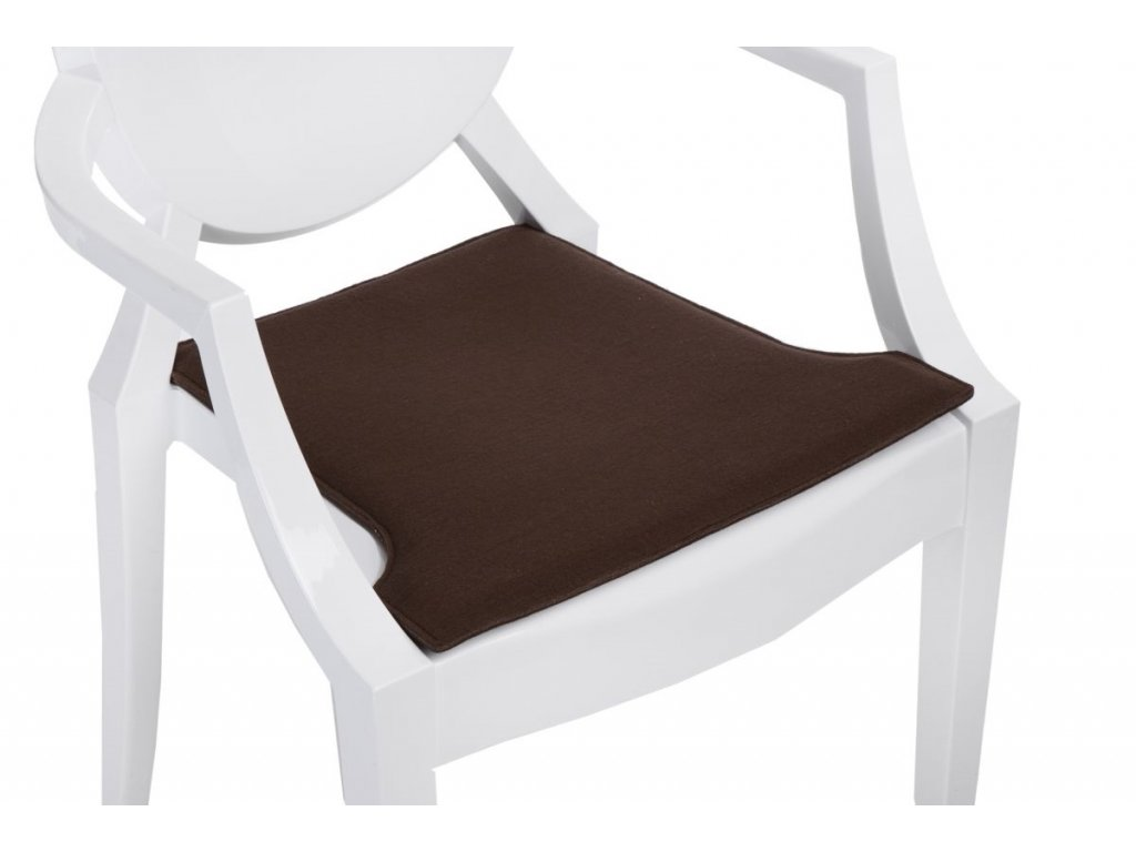Vankúš na stoličky Royal hnedý