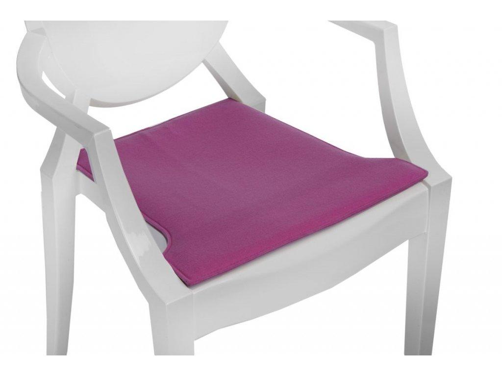 Vankúš na stoličky Royal ružový
