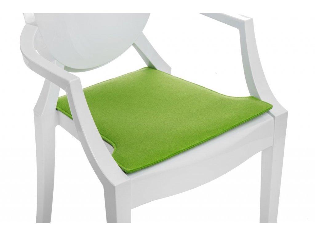Vankúš na stoličky Royal zelený svetlý