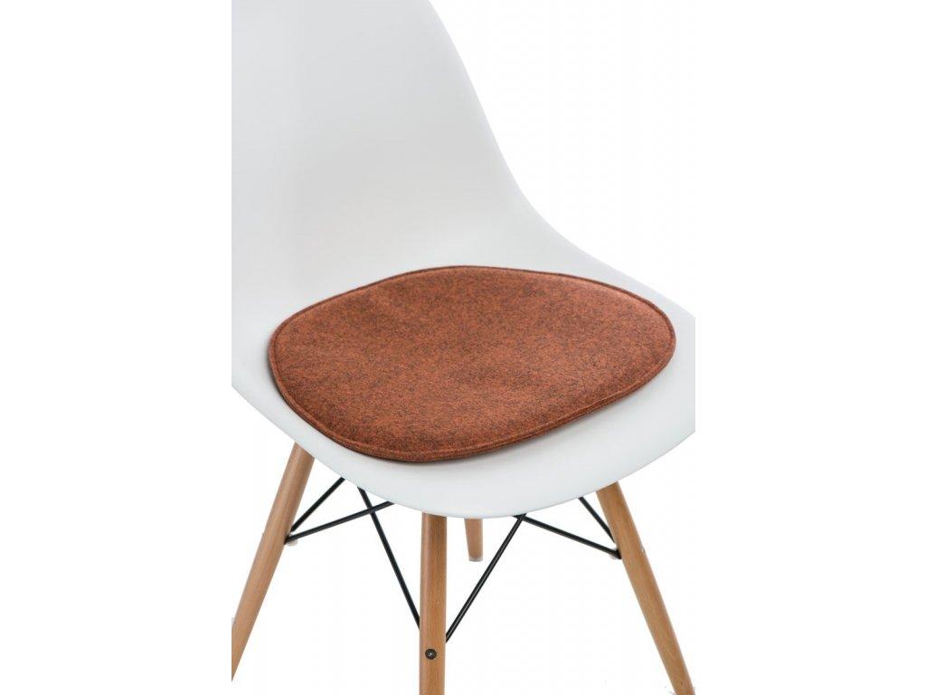 Vankúš na stoličky Side Chair pom. mel.