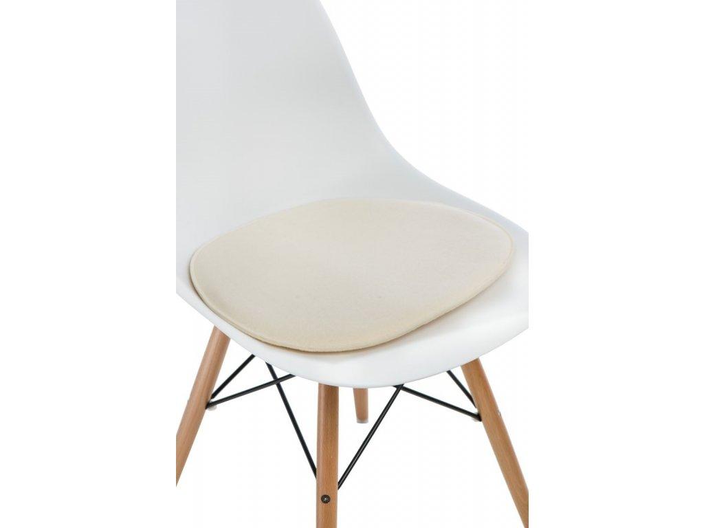 Vankúš na stoličky Side Chair prírodné