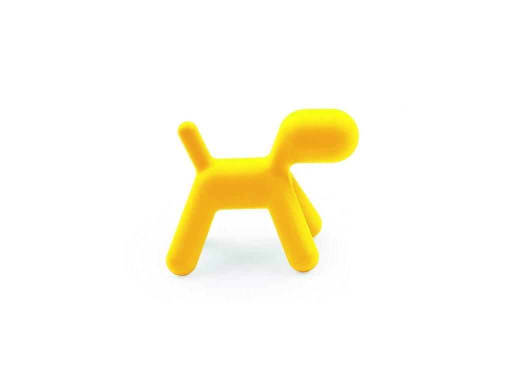 Sedadlo Pes žlté