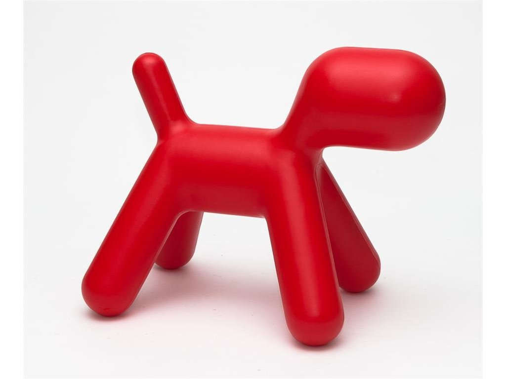 Sedadlo Pes červené