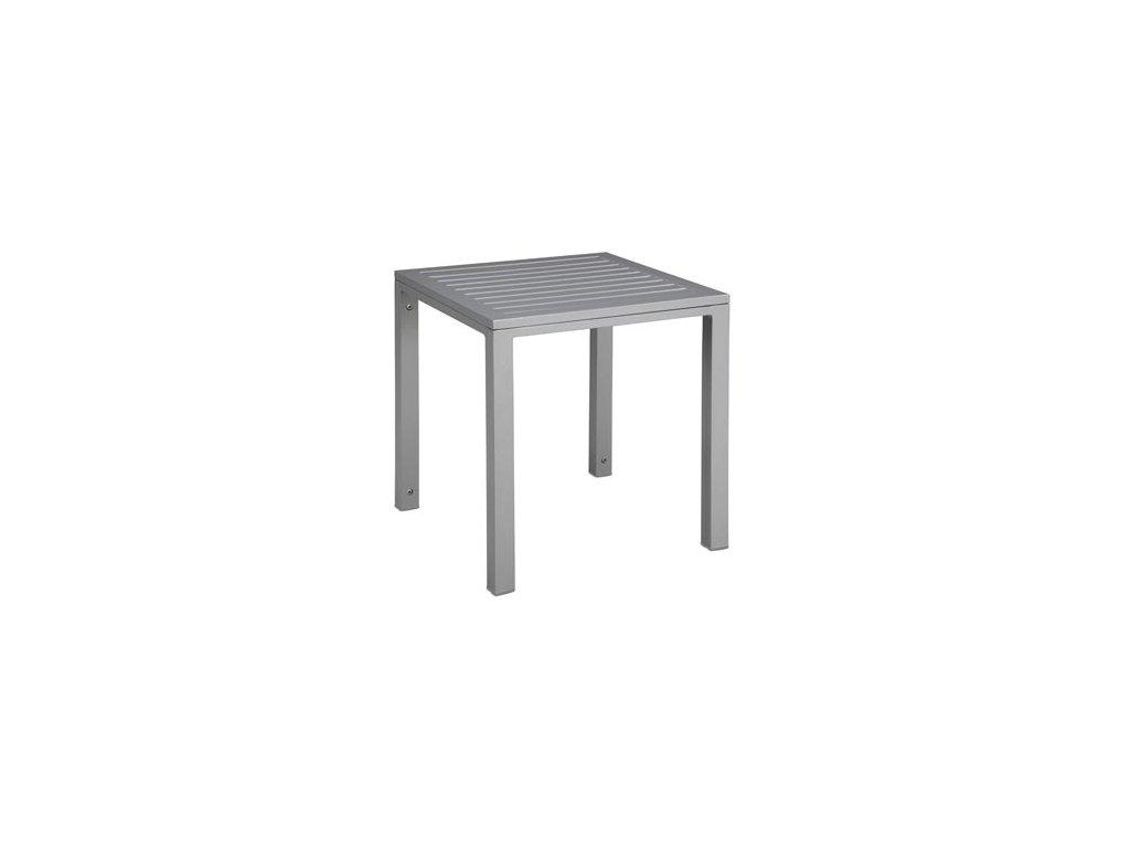 Stolík Cubic doska hliníkový 45x50x50 Grey
