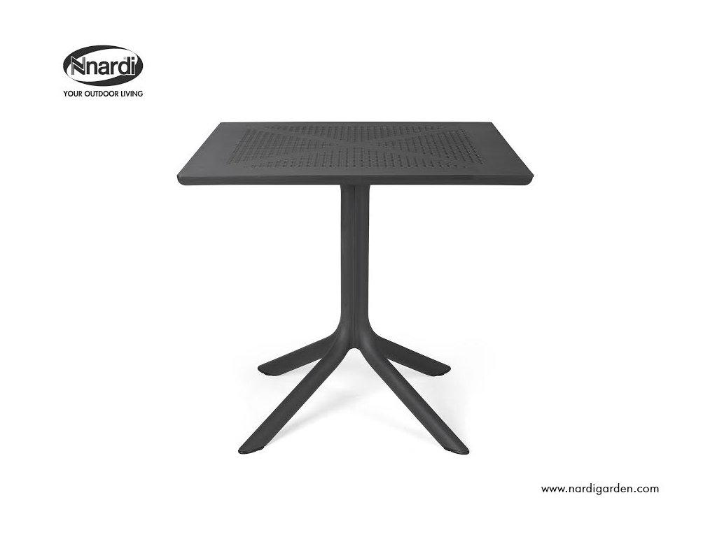 Stôl Clip čierny