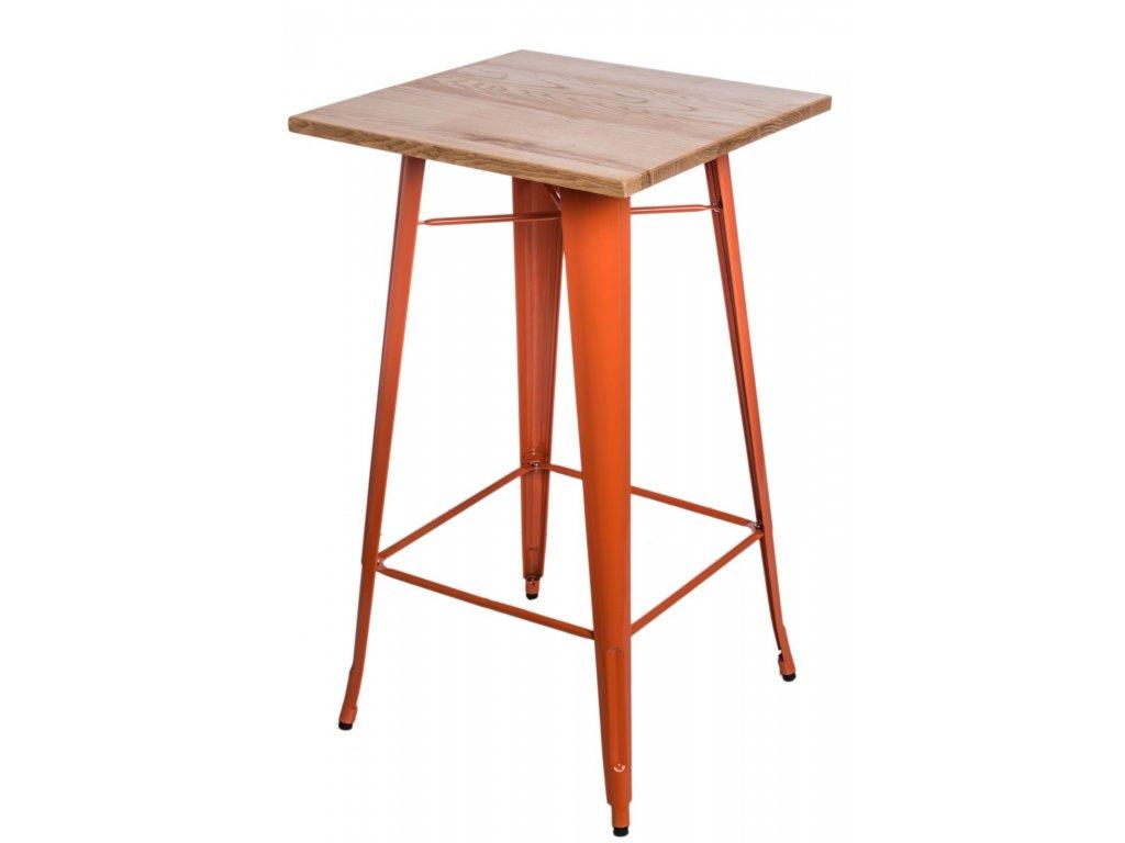 Stôl barový Paris Wood oranž jaseň