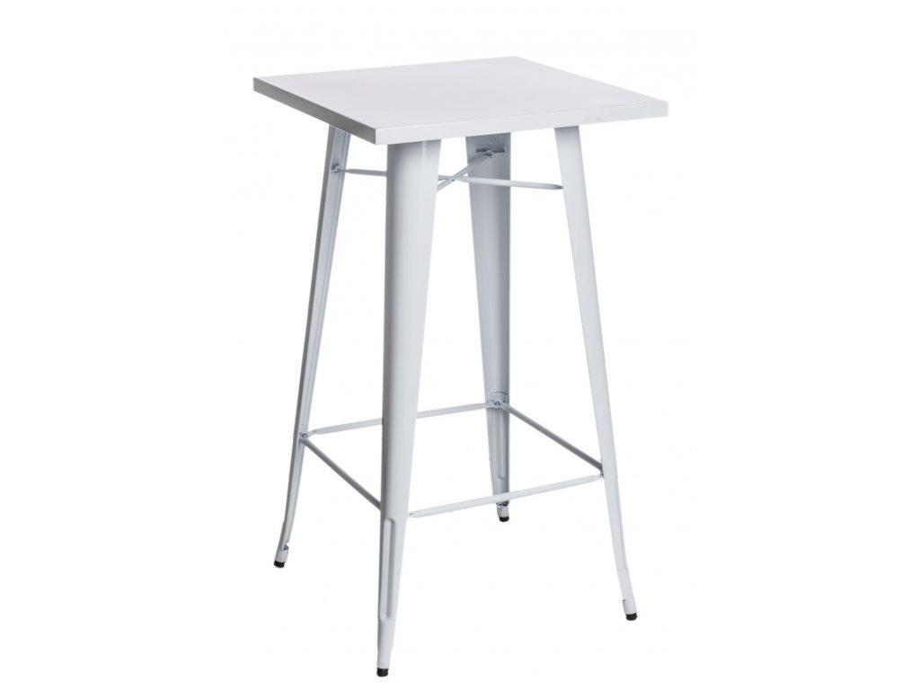 Stôl barový Paris biely