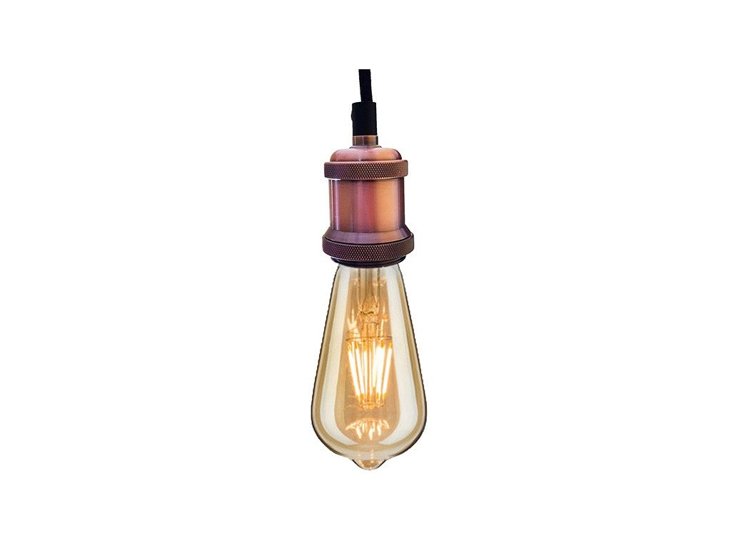 Luster - Závesná lampa Industrial Pink Chic