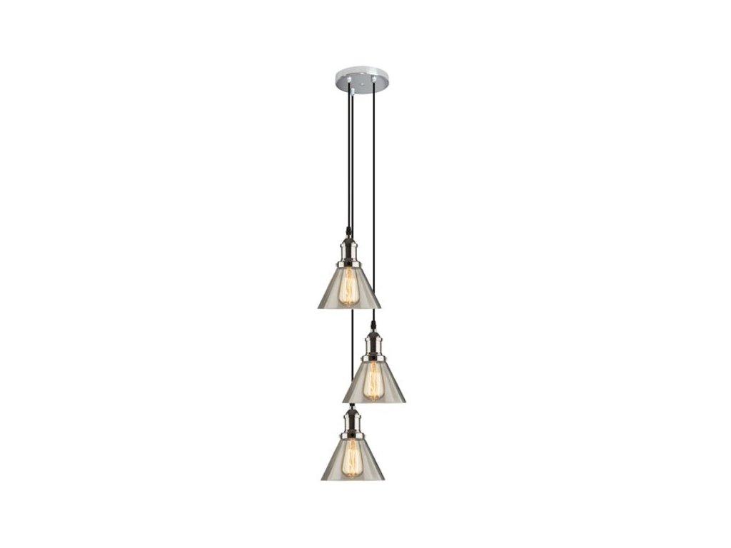Luster - Závesná lampa New York Loft 1 CO