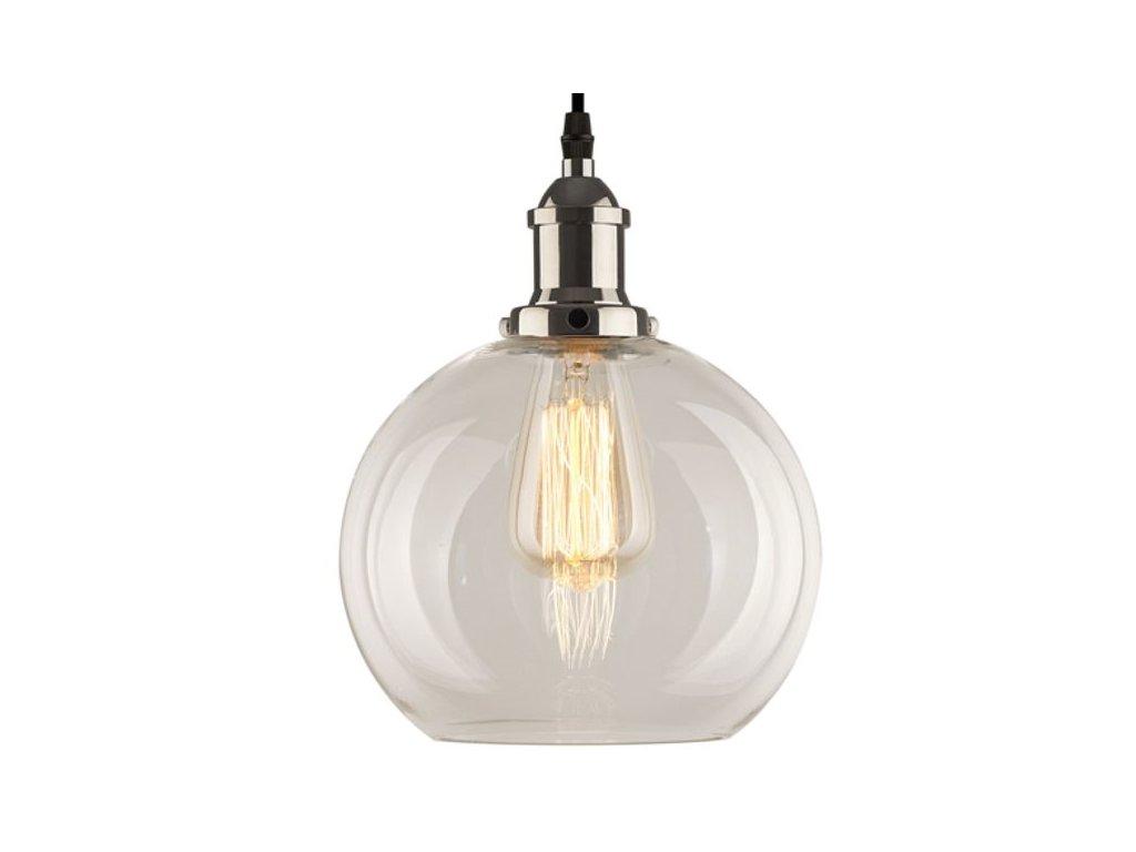 Luster - Závesná lampa New York Loft 2 chróm