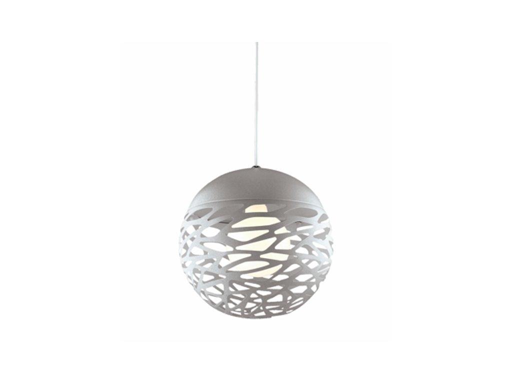 Luster - Závesná lampa Shadows 3 šedá