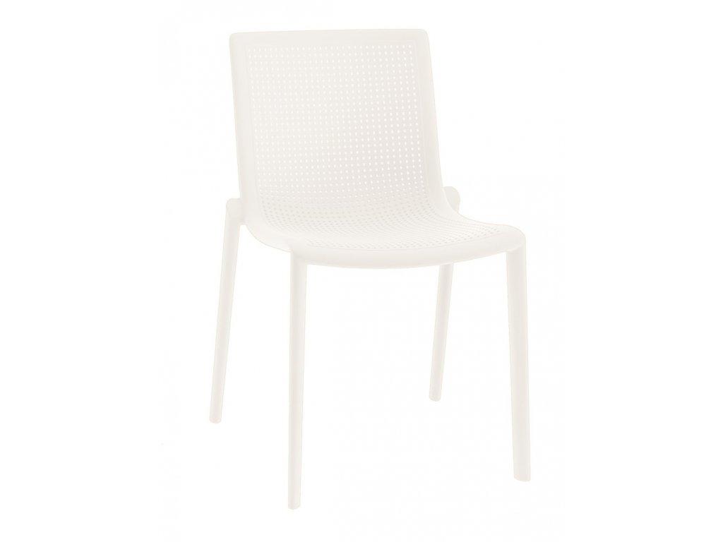 Stoličky Beek biela