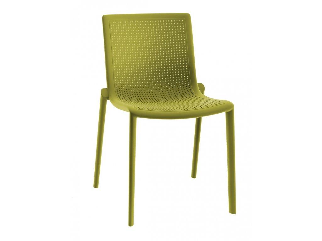 Stoličky Beek zelená