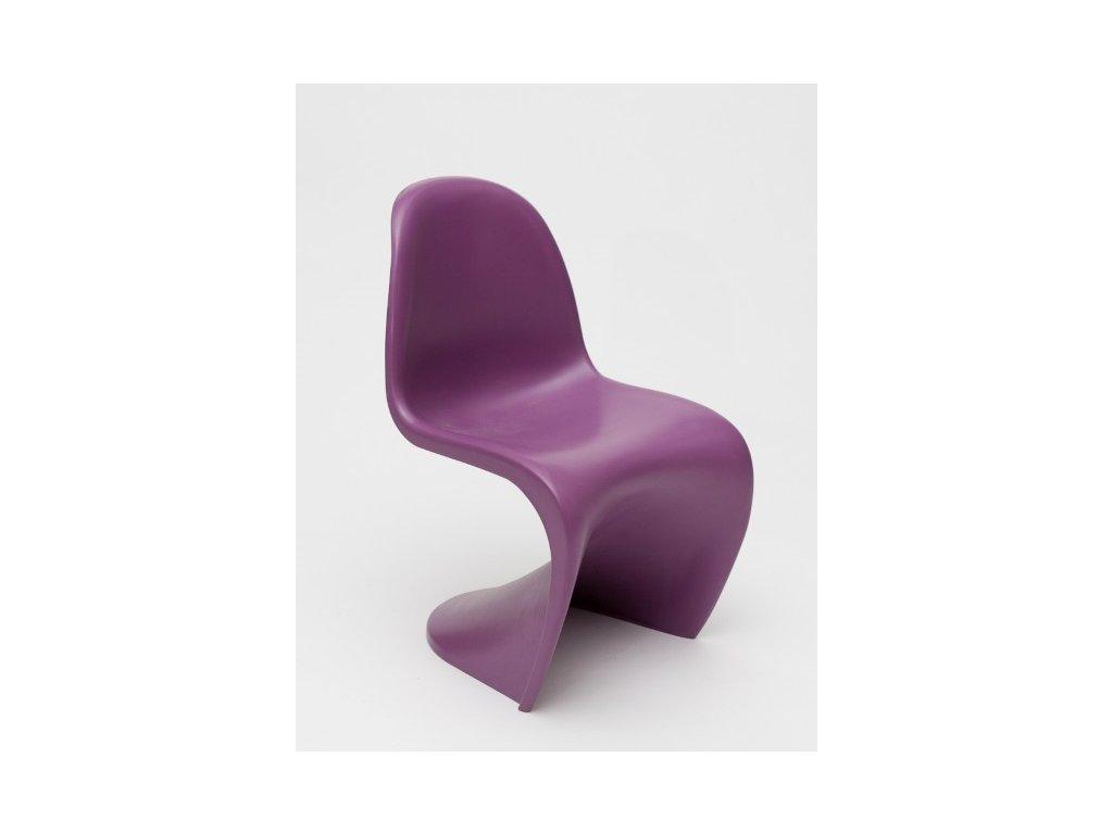 Stoličky Balance Junior fialová