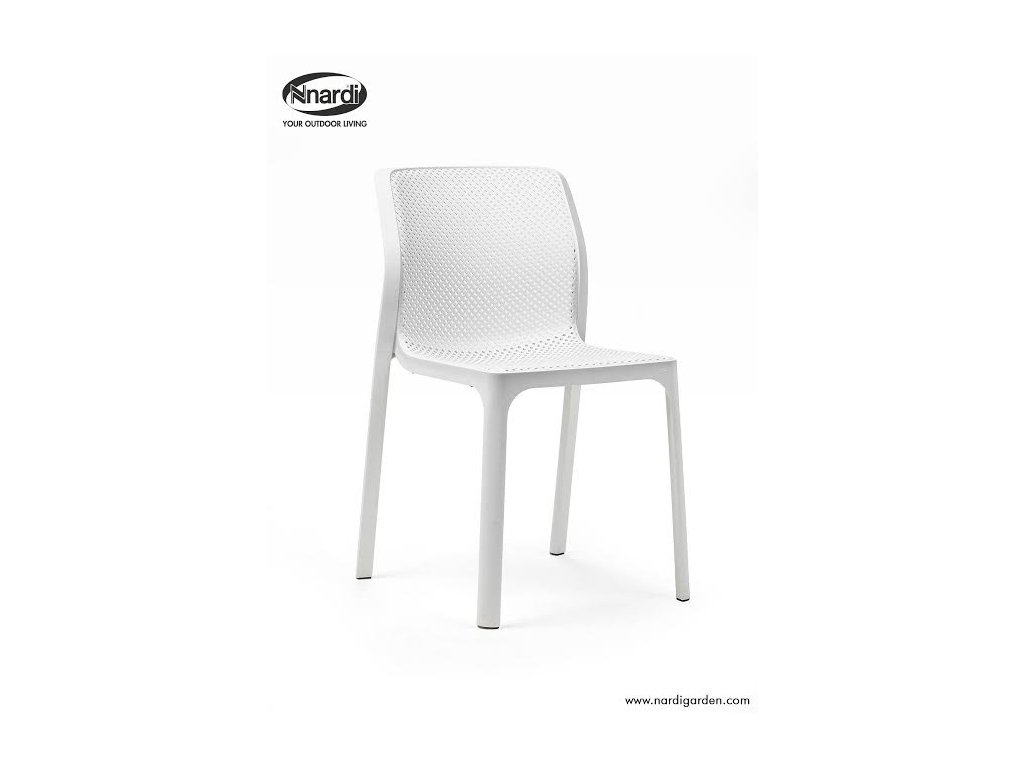 Stoličky Bit biela