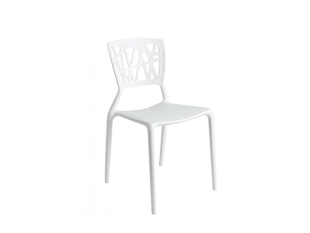 Stoličky Bush biela