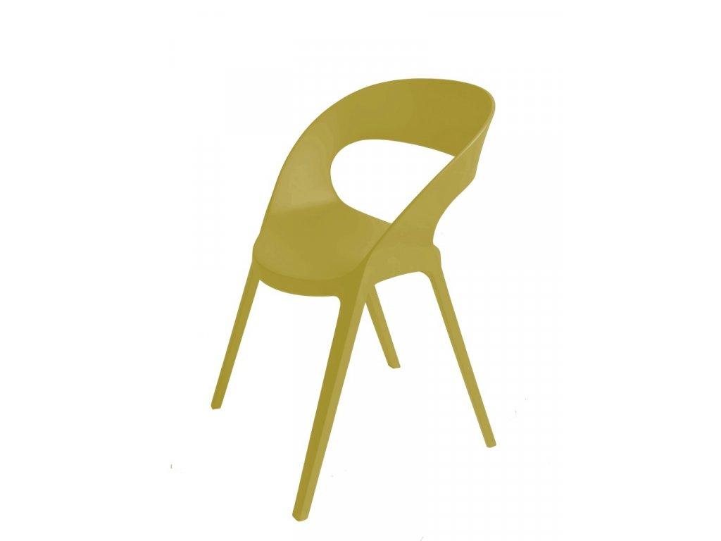 Stoličky Carla olivová
