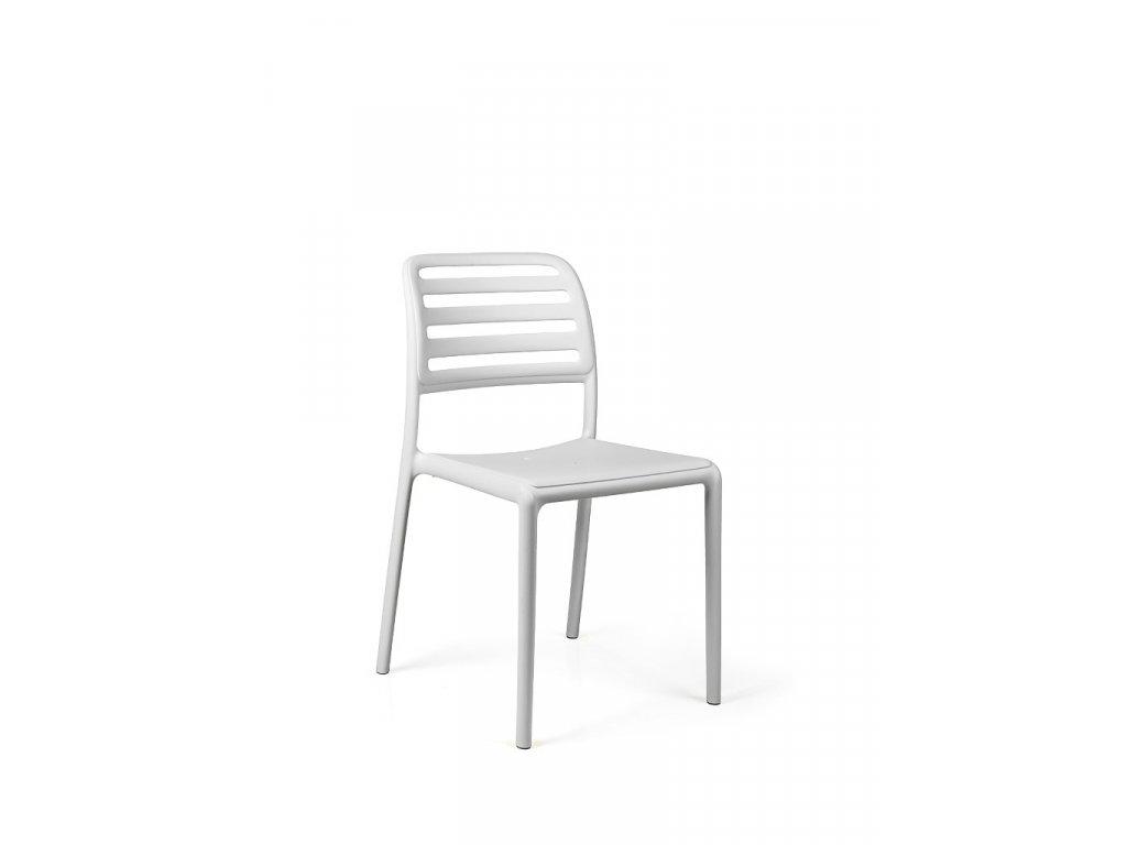 Stoličky Costa biela
