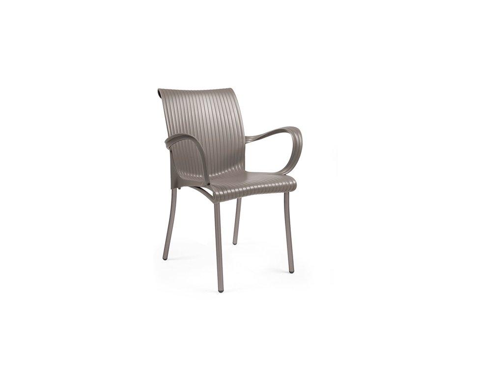 Stoličky Dáma béžová