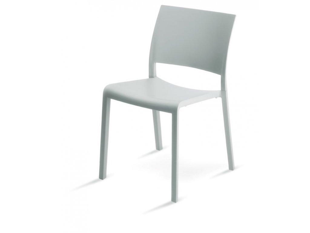 Stoličky Fiona biela