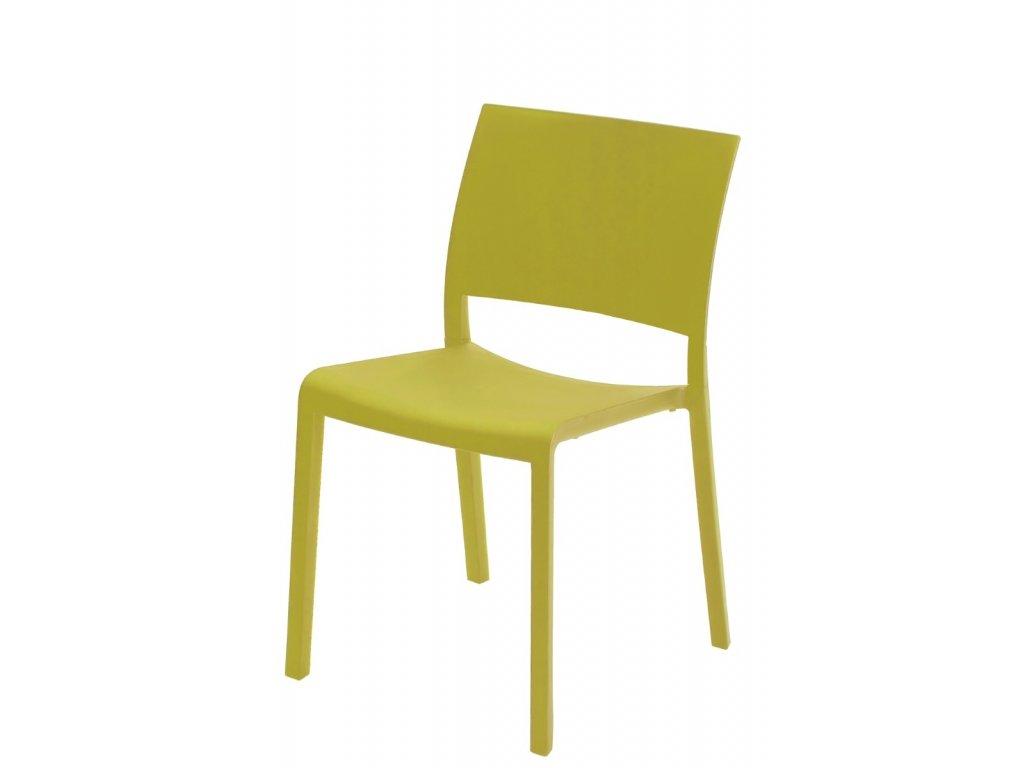 Stoličky Fiona olivová