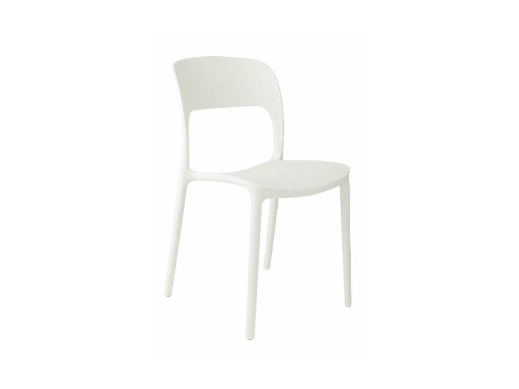 Stoličky Flexi biela