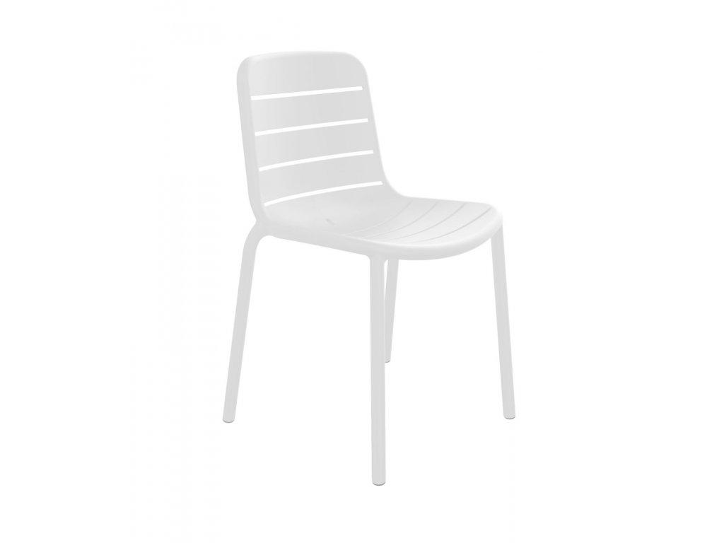 Stoličky Gina biela