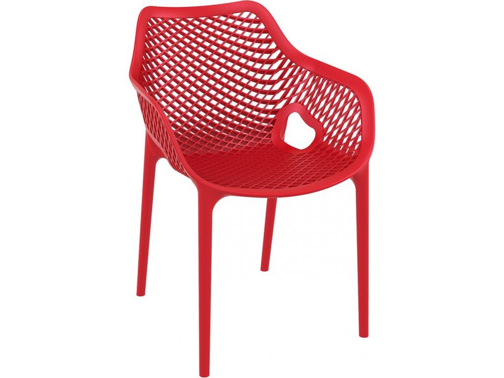 Stoličky Grid XL červená
