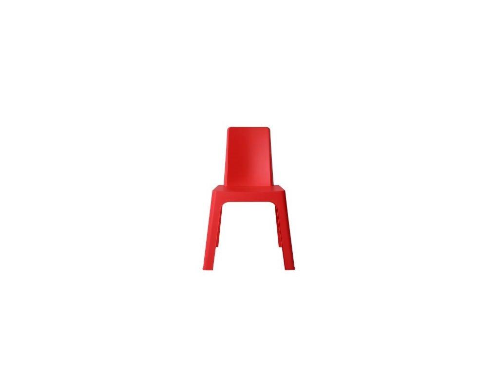 Stoličky Julieta červená