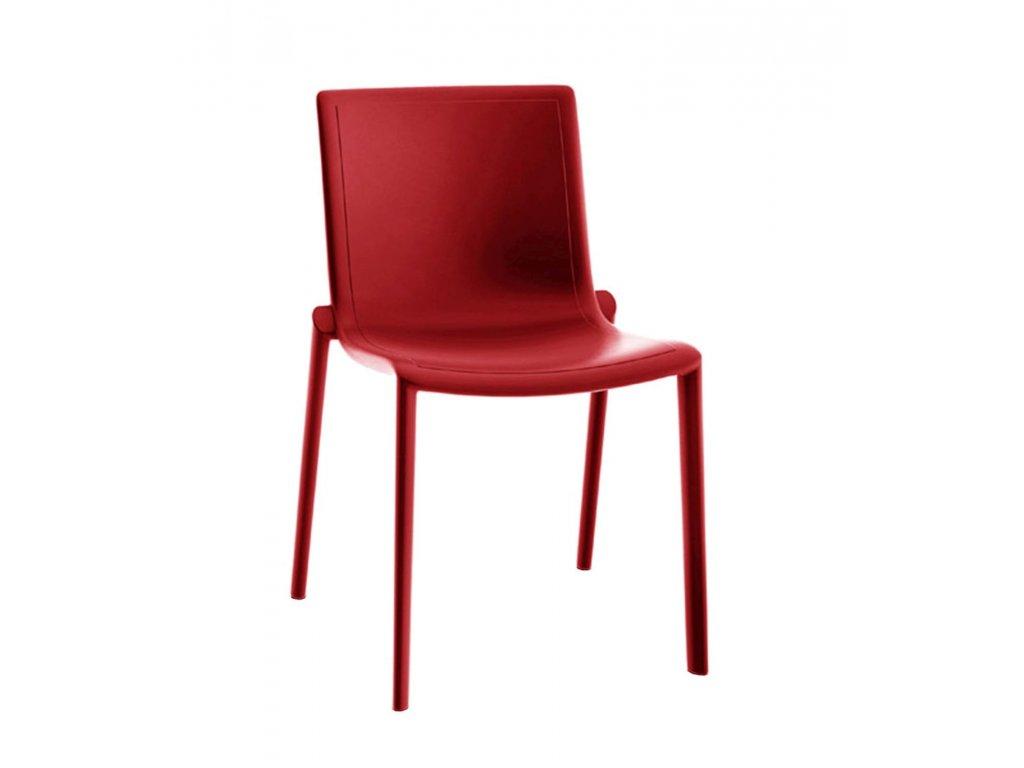 Stoličky Kat červená
