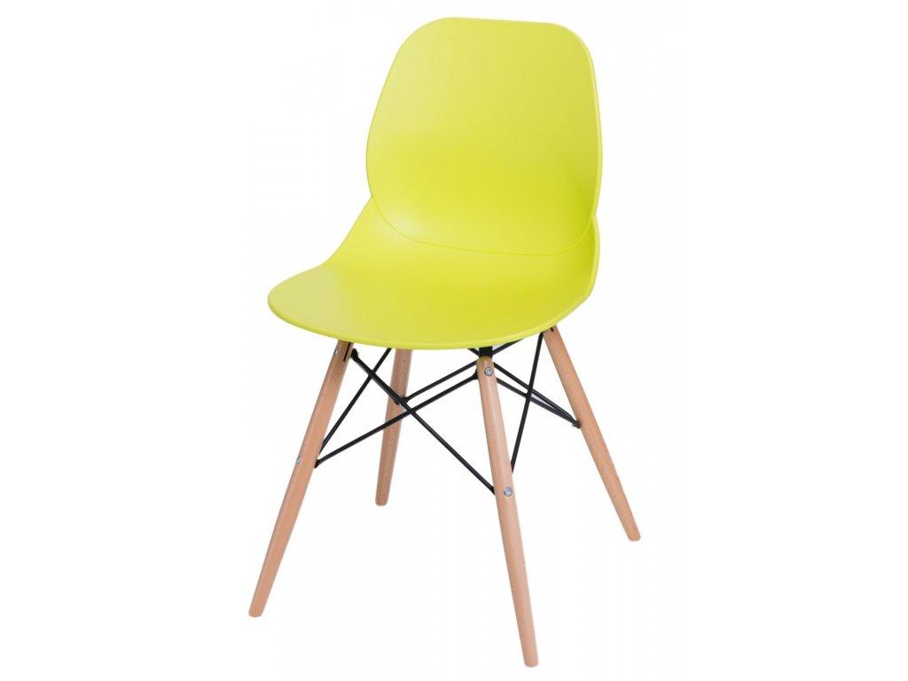 Stoličky Layer DSW limetková
