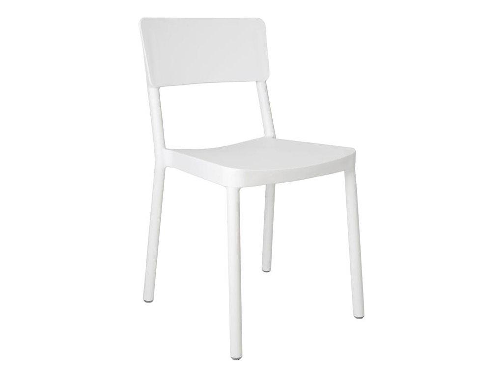Stoličky Lisboa biela