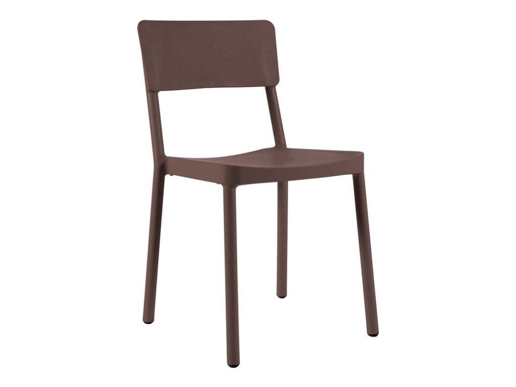 Stoličky Lisboa čokoládová