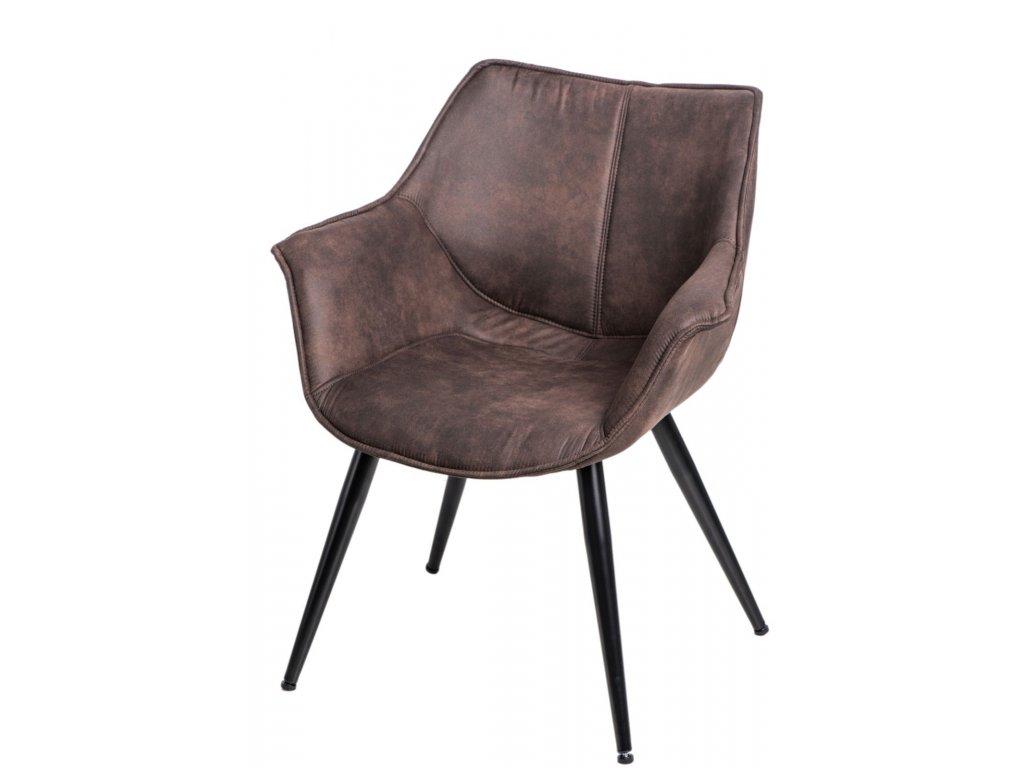 Stoličky Lord hnedá tmavá