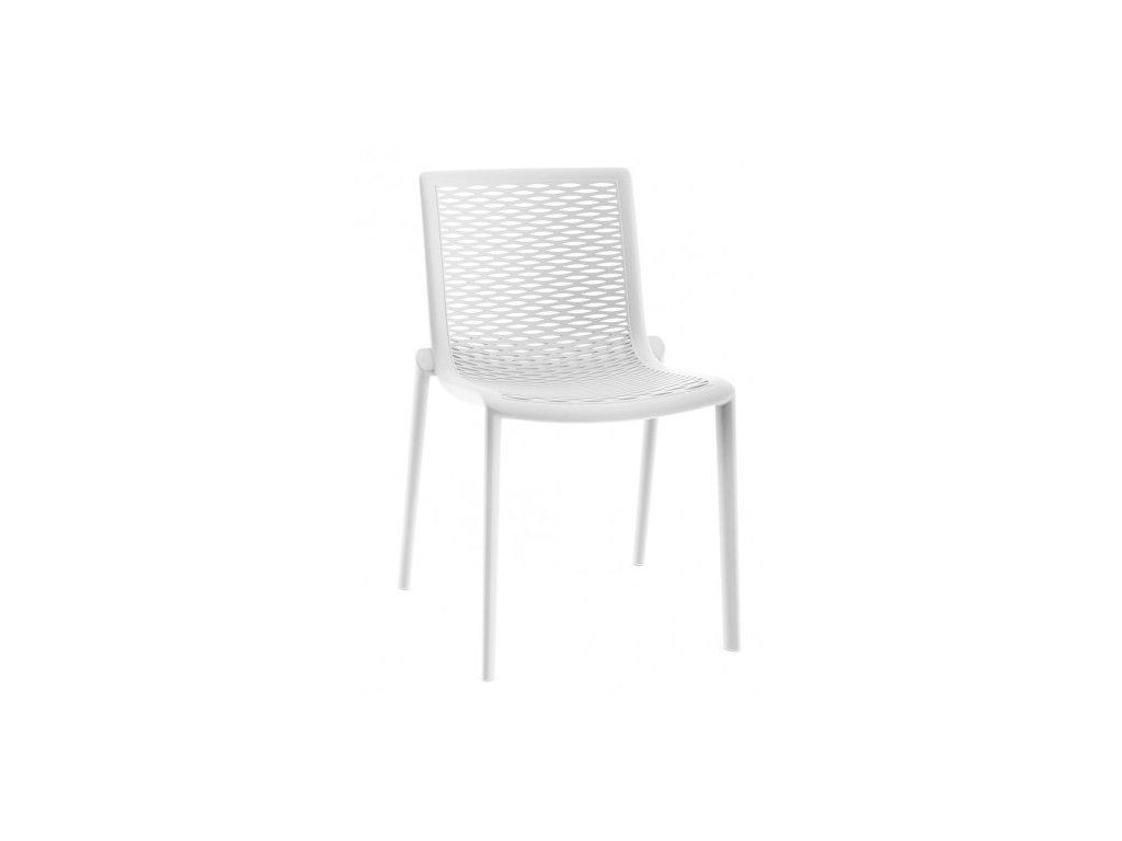 Stoličky NETKAT biela