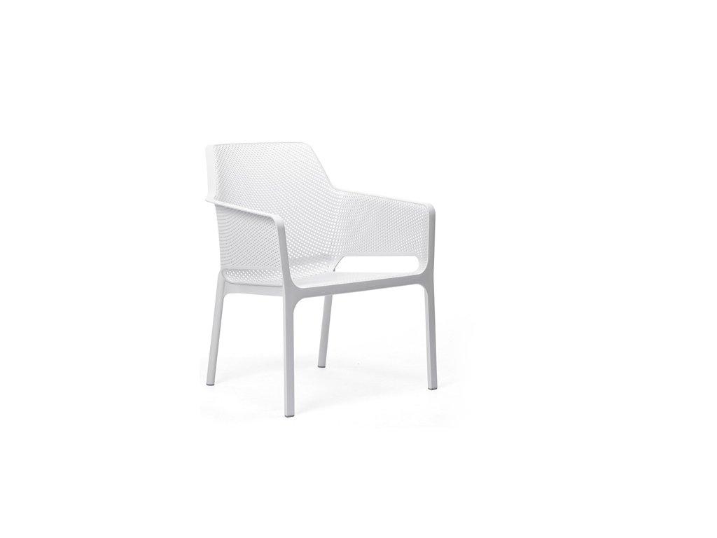Stoličky Net Relax biela