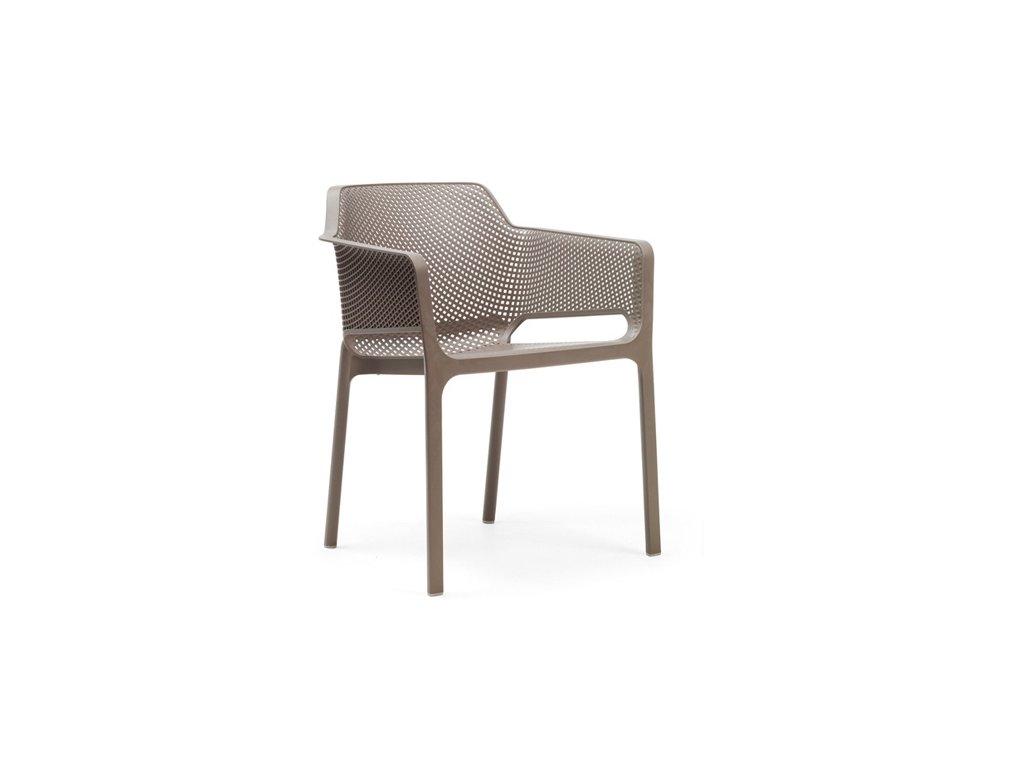 Stoličky Net béžová