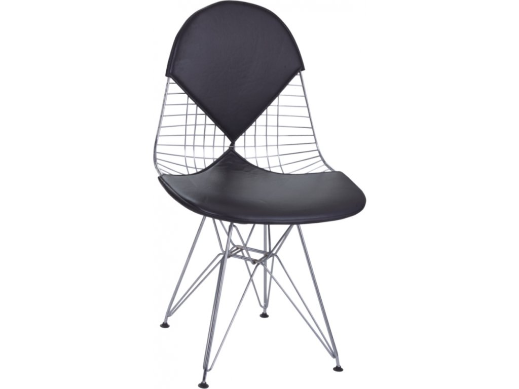 Stoličky Net double čierny vankúš