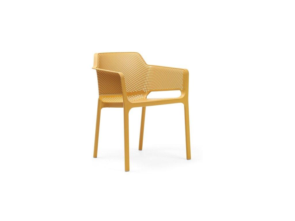 Stoličky Net žltá