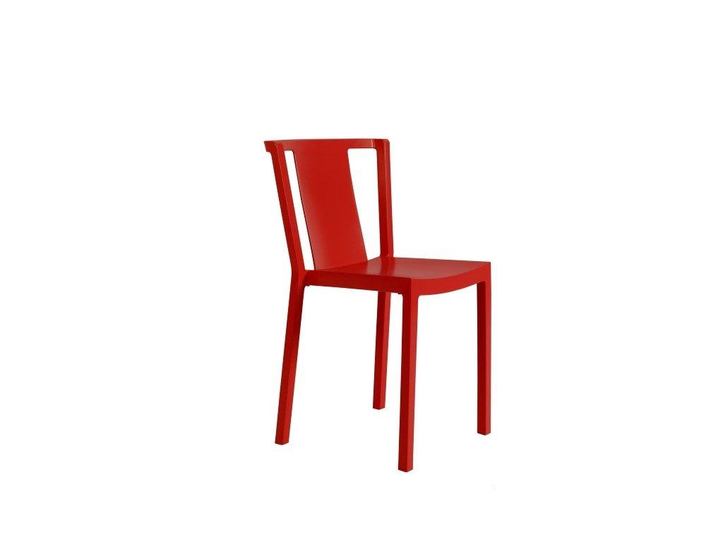 Stoličky Neutra červená